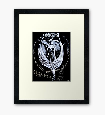 Freedom - with quotes Framed Print