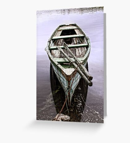 Messing on the Water Greeting Card