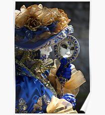Venetian Costume Parade - Annevoie (Belgium) Poster