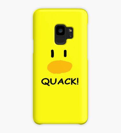 quack quack quack Case/Skin for Samsung Galaxy