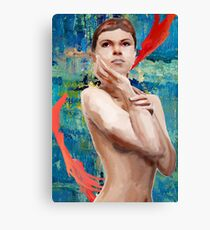 Looking Ahead Semi - Nude Canvas Print