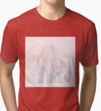 Elephants - Sketch Tri-blend T-Shirt