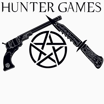 The Hunter Games (Black) by DANgerous124