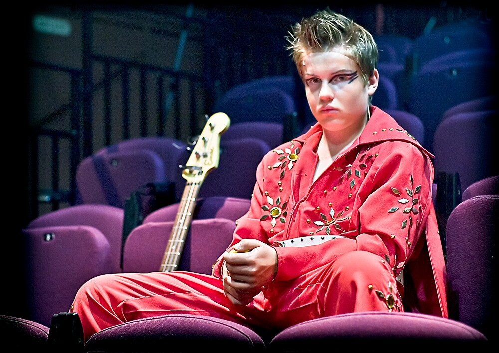 Elvis by Heather Buckley