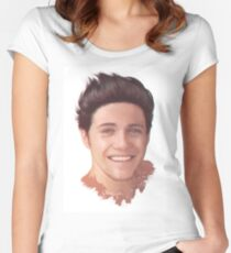 Niall Horan - Newly Brunette Women's Fitted Scoop T-Shirt