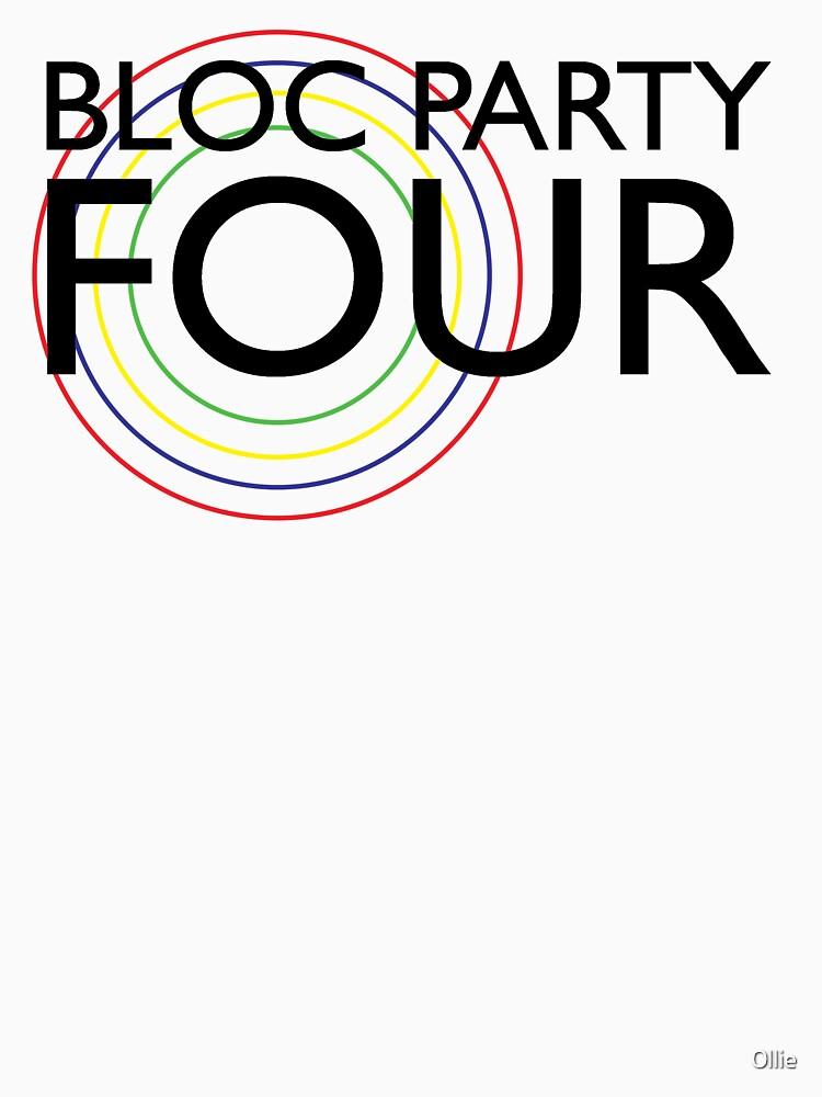 Bloc Party - Four (Black) by 0llie