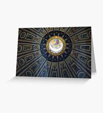 Duomo St. Peter's Basilica Rome Greeting Card