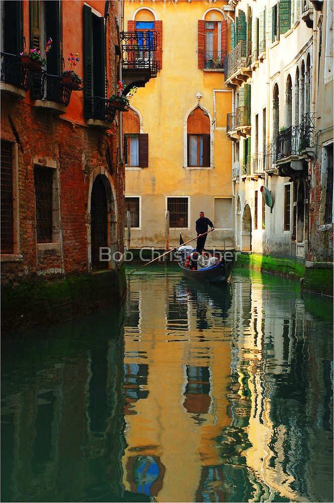 Reflections Of Venice by Bob Christopher