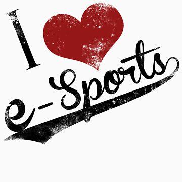 I Heart Esports by stimpackapparel