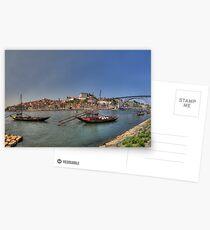 Porto - Rabelos Postcards