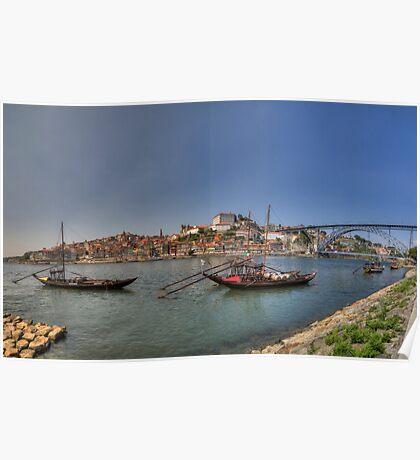Porto - Rabelos Poster