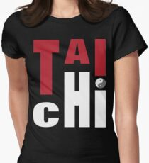 T-shirt de T'ai Chi T-shirt col V femme
