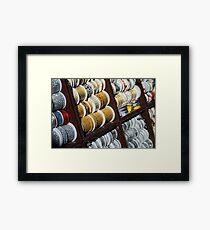 Brocade Ribbon Framed Print