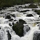 Swallow Falls North Wales by Paul Dean