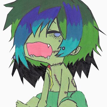 Crying Baby Chompy by ChompyZombie