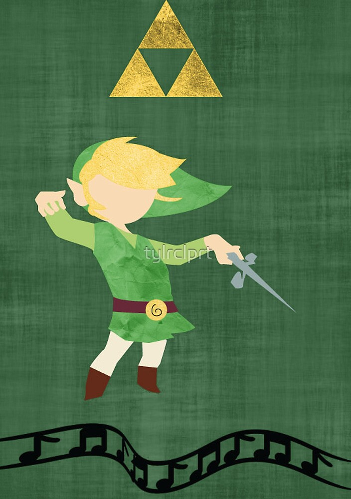 The Legend of Zelda : The Windwaker by tylrclprt