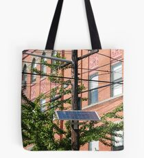 PSE&G Solar Panel, Jersey City, New Jersey  Tote Bag