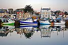 The Harbor at Grandcamp by cclaude