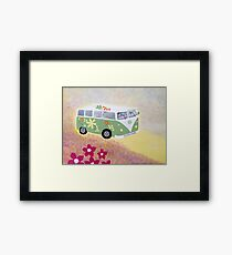 Campervan fun Framed Print