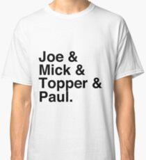 Joe & Mick & Topper & Paul Clash T-Shirt Classic T-Shirt