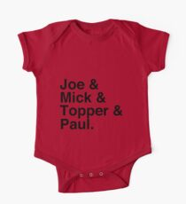 Joe & Mick & Topper & Paul Clash T-Shirt Kids Clothes