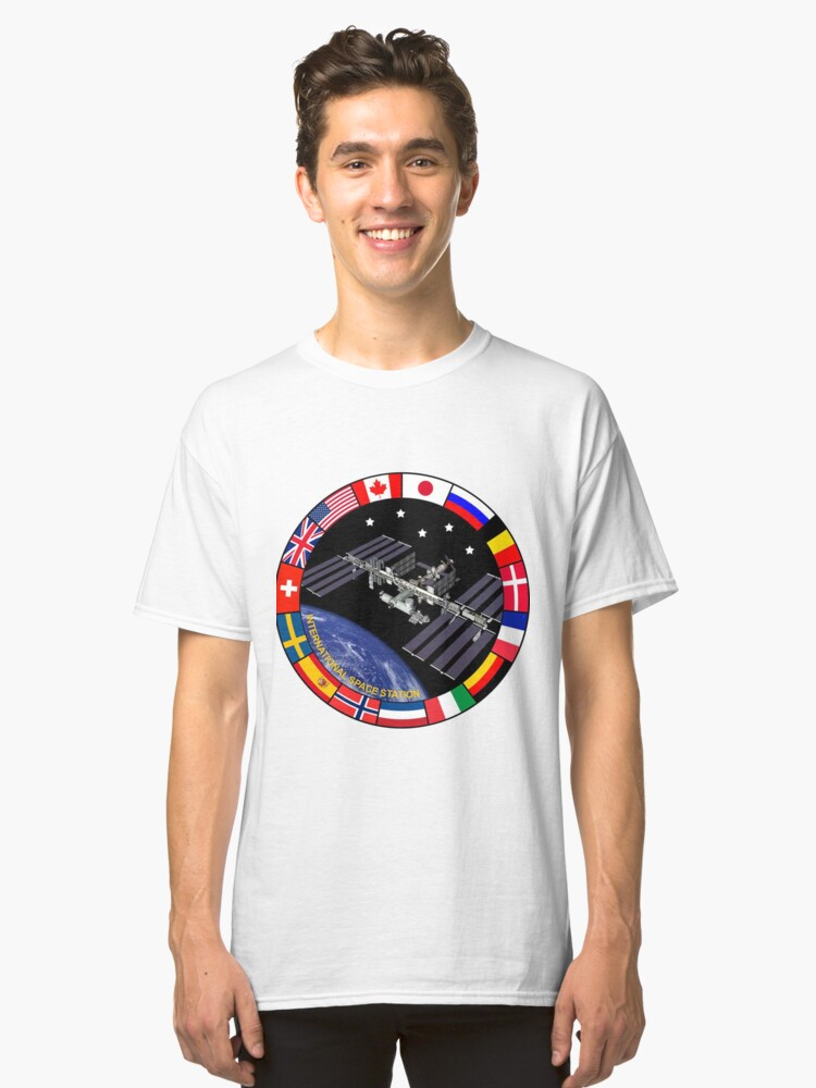 ISS Composite Logo Classic T-Shirt Front