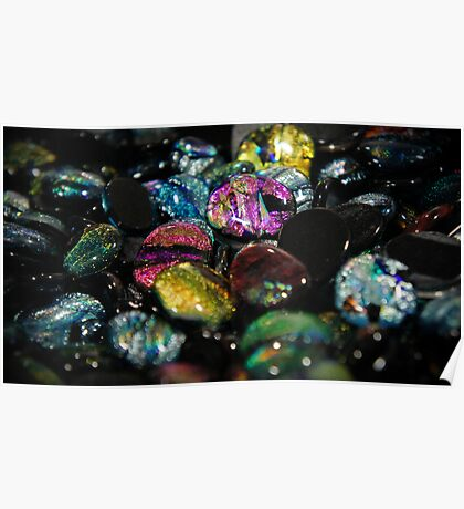 Glass Stones Poster