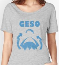 """GESO - """"Amity"""" Blue version  Women's Relaxed Fit T-Shirt"""