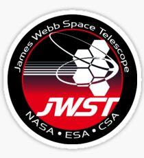 James Webb Space Telescope Component Logo Sticker