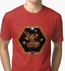 James Webb Space Telescope - NASA Program Logo Tri-blend T-Shirt
