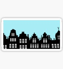 Brussels Grote Markt / Grand Place Sticker
