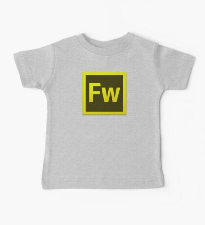 Fire Works CS6 Logo Kids Clothes
