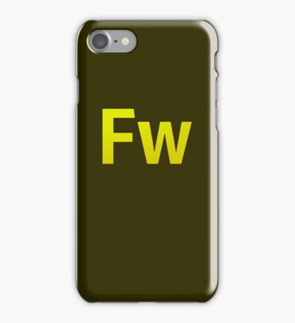 Fire Works CS6 Letters iPhone Case/Skin