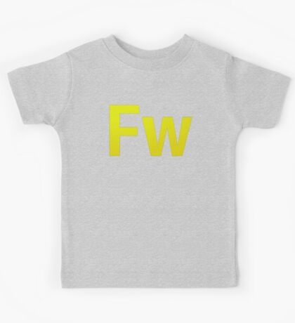 Fire Works CS6 Letters Kids Clothes