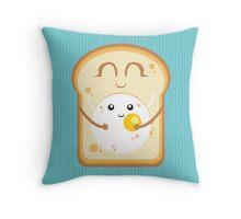 Hug the Egg Throw Pillow