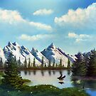 Landscape Montain Lake by Sunflow
