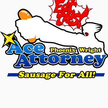 Ace Attorney: Sausage For All by melaiken