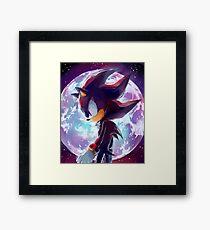 Shadow the Hedgehog Framed Print