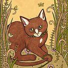Cinnamon Purrs by Anita Inverarity