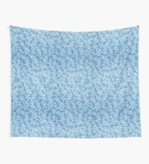 Head Over Heels (blue) Wall Tapestry