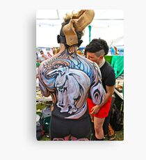 Punked Stallion Canvas Print