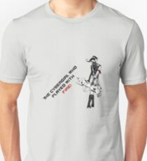 The Cybergirl Who Played With Fire Unisex T-Shirt