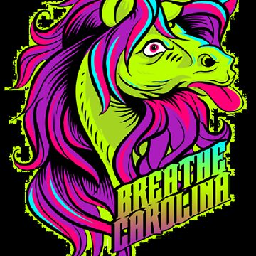 Breath Caolina-Unicorn(green/black splotch) by mirra96