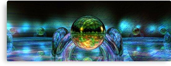 Multiple Reflections by Benedikt Amrhein