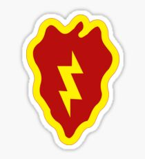 25th Infantry Division Insignia Sticker