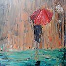 Untitled II- (the Girl in the Rain) by Ibrar Yunus