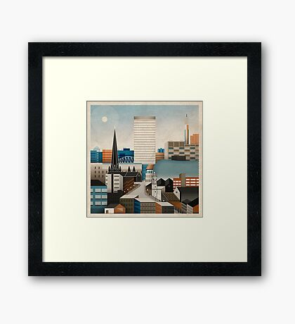 From Digbeth With Love Framed Print