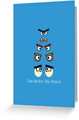 The Bird IS The Word by the50ftsnail