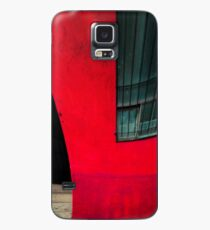 Red building Case/Skin for Samsung Galaxy