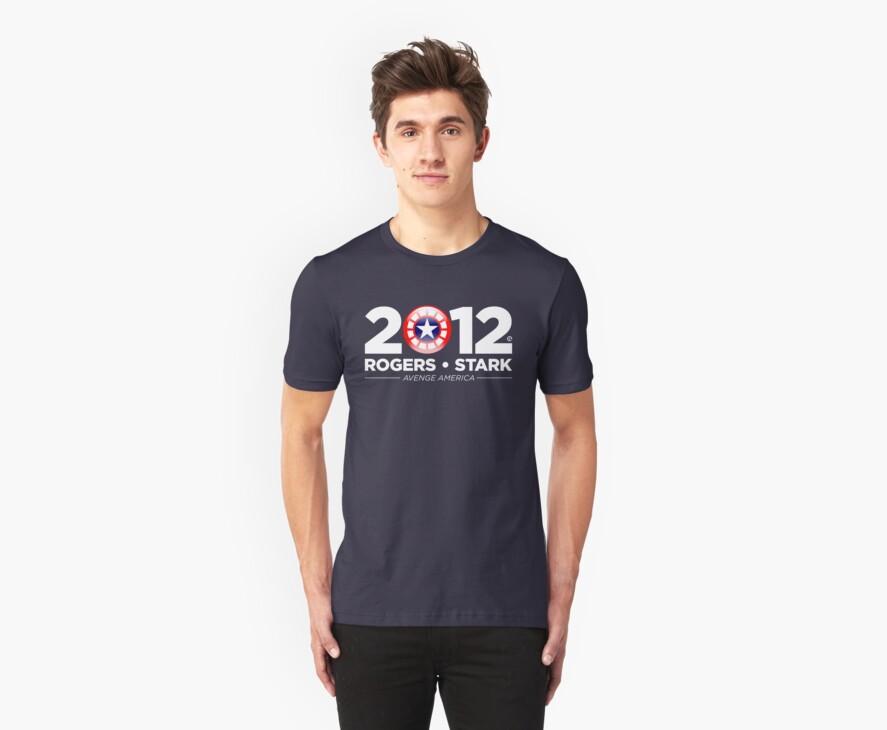 Vote Rogers & Stark 2012 (White Text) by Eozen